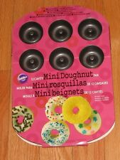 Wilton 12 Cavity Mini Doughnut Pan-BRAND NEW AND COMPLETELY ADORABLE!