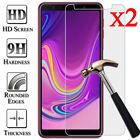 For Samsung Galaxy A3 A5 A6 A6+ A7 A8 A8+ A9 2X Tempered Glass Screen Protector
