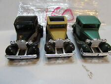 MATCHBOX LOT OF 3 LOOSE LESNEY SUPERFAST MODEL A FORD MADE IN ENGLAND / MACAU