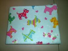 1-Decorated Scottie Dogs/Schnauzer Standard Size Pillowcase Soft, New & Handmade