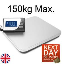 More details for professional 150kg heavy duty postal parcel scales weighing stainless steel