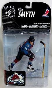 McFarlane NHL Sports Picks Series 19 RYAN SMYTH Colorado Avalanche MAROON JERSEY