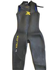 Women's XTERRA WL Sleeveless Triathlon Wetsuit BLACK ORANGE WOMENS Large