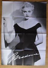 MADONNA 1986 1987 Era Rare Vintage Folded Huge Poster 55
