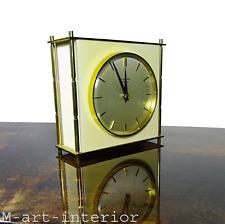 ATO-MAT JUNGHANS Tisch Uhr, Quarz, Table Clock vintage Made in Germany 50er 60er