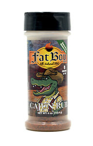 Fat Boy Cajun Gluten Free Natural BBQ Rub Seasoning 4 oz