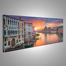 Bild Bilder auf Leinwand Venedig Bild von Canal Grande in Venedig, mit CKG-Pano