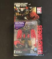 Transformers Titans ritorno V classe dei Decepticon pericolo /& Blitzwing Regalo di Natale