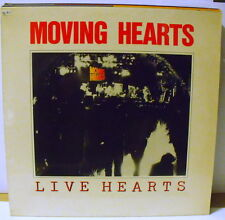 MOVING HEARTS - LIVE HEARTS - LP MINT