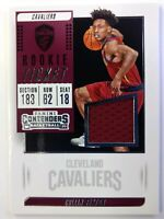 2018-19 Panini Contenders Rookie Ticket Swatches Collin Sexton Jersey RC #RT-CSX