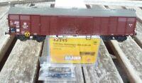 Brawa 48395 Gedeckter Güterwagen Bauart GGhrsz der DR, Epoche 3 gealtert in OVP