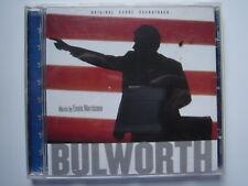 2028 Bulworth: Original Score Soundtrack, Ennio Morricone CD *EX-LIBRARY*