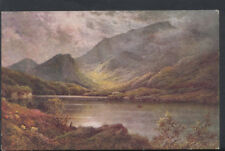 Ireland Postcard - Upper Lake and Maggillicuddy Reeks, Killarney    RS6993
