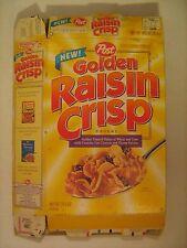 P6b18 Empty Cereal Box 1994 Post GOLDEN CRISP Baseball Card Offer