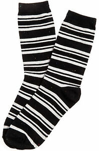 K. Bell Women's Preppy Striped Crew Sock One Size - 66929