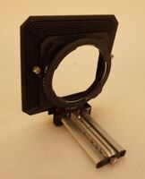 Hasselblad Bellows Shade with Gelatin Filter Mask 050-070