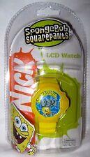Nickeledeon Spongebob Squarepants LCD Digital Display Watch (STYLES VARY)-NEW!