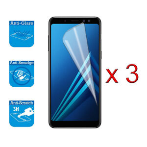 For Samsung Galaxy A8 2018 A530F Screen Protector Cover Guard LCD Film Foil x 3