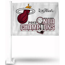 Miami Heat 2013 NBA Champions Car Flag and Window Flag