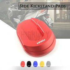 CNC Plate Pad Kickstand Extension Side Stand Enlarge Fo HONDA 2018 Forza 125/300