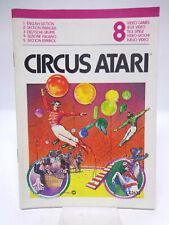 Anleitung - Handbuch - Bedienungsanleitung Atari - Circus Atari
