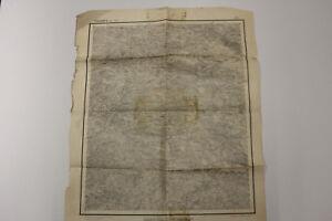 alte Historische Karte Landkarte Pegnitz Ost 1880 Blatt Bayreuth ...1