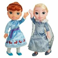 Disney Frozen Singing Sisters Traditions Anna and Elsa Talking Light Up Dolls