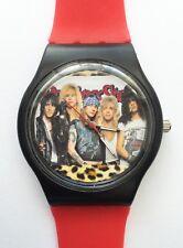 Guns N Roses watch - Retro 80s designer wristwatch