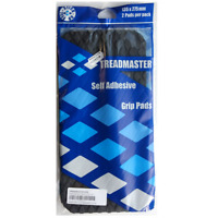 TREADMASTER Self Adhesive Grip Pads Pack of 2 - 135mm x 275mm - BLACK