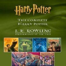 7 Audiobooks - Harry Potter Series Unabridged  English - Jim Dale (MP3-DVD)