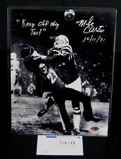 Mike Curtis Colts Signed 11x14 Tackling Fan Photo W/Keep Off My Turf  - SCH Auth