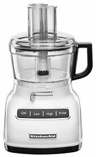 KitchenAid 7-cup Food Processor Exactslice Systm ThickThin Slice KFP0722WH White
