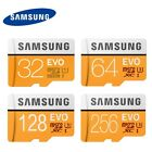SAMSUNG 32GB 64GB 128GB 256GB Micro SD SDXC MicroSDXC lot Class10 TF Card EVO