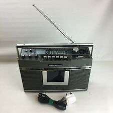 Vintage National Panasonic RS-460SD FM/AM Stereo Radio Cassette Tape Recorder