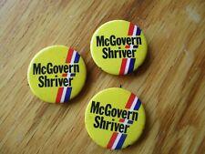 MCGOVERN/SHRIVER POLITICAL PINS 50 FOR 25.00