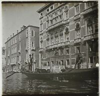 Venezia Italia Foto Placca Da Lente Stereo K3 Vintage Ca 1910