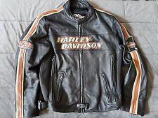 Harley Davidson Torque Mens Black leather jacket - 98114-06VM Large