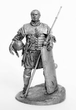 Tin toy soldier Evocatus. Legionnaire veteran. Metall sculpture 54 mm