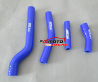Silicone Radiator Hose For 2003-2009 YAMAHA YZF450 YZ450F 04 05 06 07 08 blue