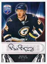 2009-10 UPPER DECK BE A PLAYER SIGNATURES BRAD BOYES AUTO ST LOUIS BLUES #S-BY