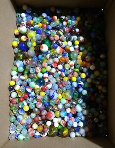 Lot of 50 Antique Vintage MARBLES Estate Sale Find Many  Lots Available