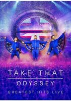 TAKE THAT:ODYSSEY:GREATEST HITS LIVE (CD/DVD+ PHOTOBOOK)-BRAND NEW AND SEALED =