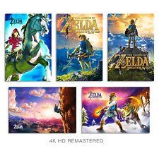 Legend of Zelda Breath of the Wild 13x19 Posters (5) W/ FoamBoard Backing