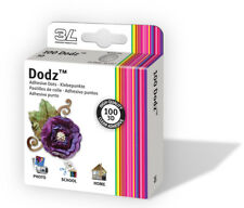 3L Scrapbook Adhesives Permanent Dodz, 3D, 1/2-Inch, 100-Pack, Clear