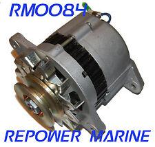 Alternator for Yanmar Marine 35 AMP, 1GM, 2GM, 2QM15 128170-77200, LR135-74