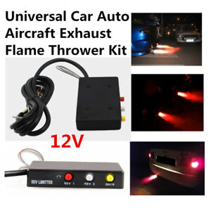 1X Car Auto Aircraft Universal Exhaust Flame Thrower Kit Fire Burner Afterburner