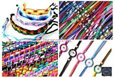 Peruvian Handmade Ethnic Friendship Bracelets, 4 Styles, Lot of 200- UK Seller