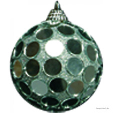 Spiegelkugel runde Spiegel silber 6 Stück  7cm, Discokugel