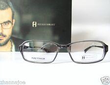 909bcb2682e Freudenhaus Titanium 52-16 Small Medium Vincent Eyeglasses Frames mens  Eyewear