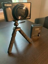 Canon PowerShot SX740 HS Digital Camera - Black w/ Handle Attachment